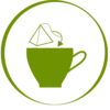 tisarôm teabag in a cup